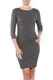 Azim Monochrome Bodycon Dress - Product Mini Image