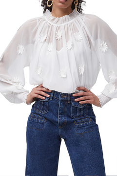 French Connection Aziza Floral Blouse - Product List Image