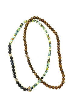 The Woods Fine Jewelry  Azoursod and Bronze Necklace - Alternate List Image