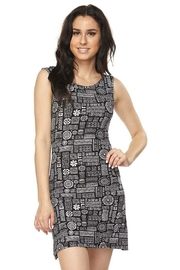 New Mix Aztec Cross-Back Dress - Product Mini Image