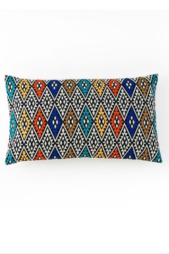 Shoptiques Product: Aztec embroidered rect. pillow