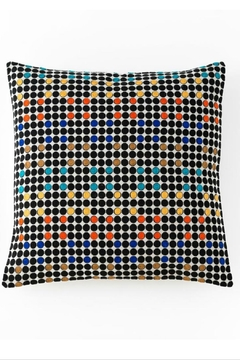 Shoptiques Product: Aztec embroidered square pillow