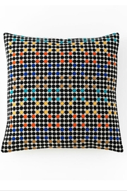 Shiraleah Aztec embroidered square pillow - Front cropped
