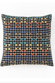 Shiraleah Aztec embroidered square pillow - Product Mini Image