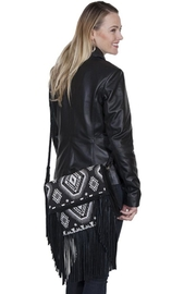 Scully Aztec Fringe Crossbody - Product Mini Image