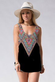 Fashionomics Aztec Knit Tank - Product Mini Image