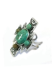 JChronicles Aztec Natural-Turquoise Ring - Product Mini Image