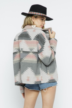 LA MIEL  Aztec Oversized Jacket - Product List Image