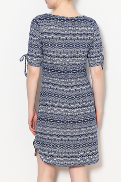 PAPILLON BLANC Aztec Print Shift Dress - Alternate List Image