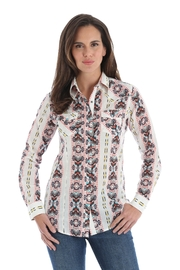 Wrangler Aztec Print Snap-Up - Product Mini Image