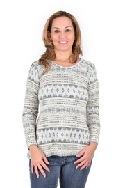 Ethyl Aztec Print Sweater - Product Mini Image