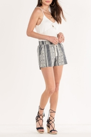 Miss Me Aztec Printed Shorts - Other