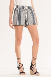 Miss Me Aztec Printed Shorts - Front full body