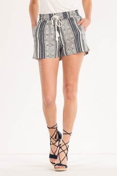 Shoptiques Product: Aztec Printed Shorts