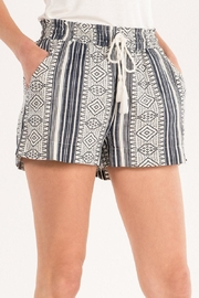 Miss Me Aztec Printed Shorts - Back cropped