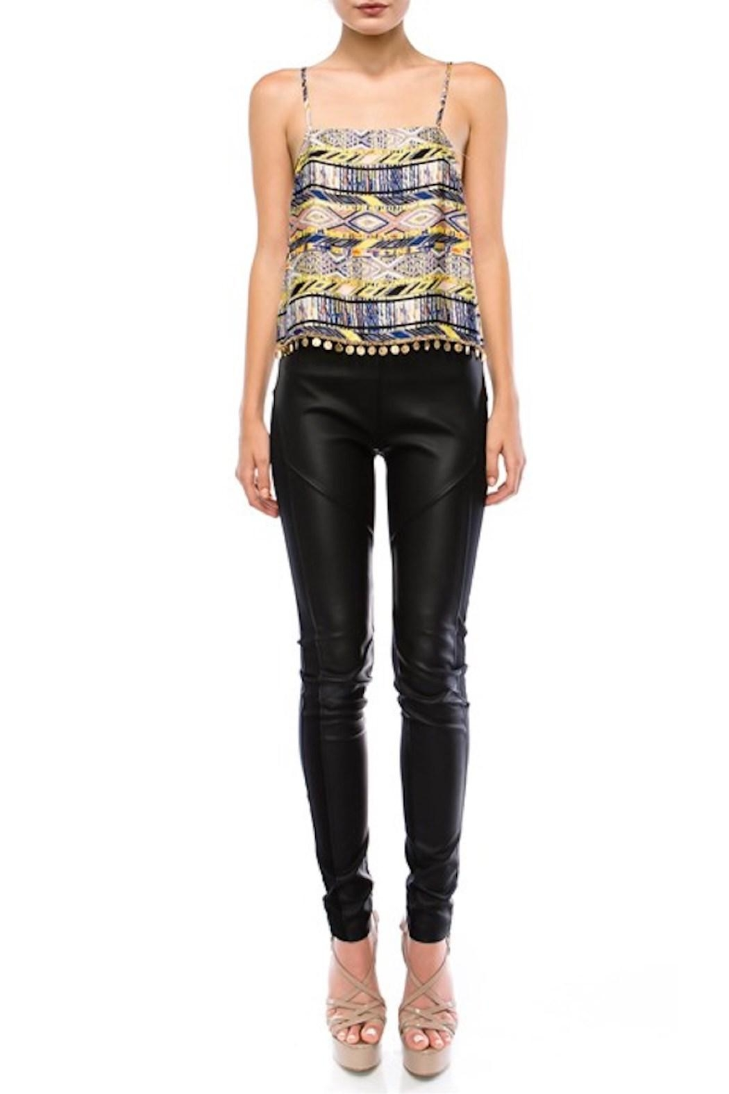 OC Avenue Aztec Silk Tank - Front Cropped Image