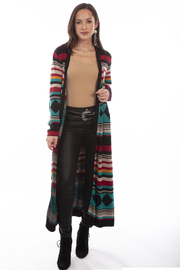 Scully  Aztec Sweater Coat - Product Mini Image