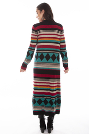 Scully  Aztec Sweater Coat - Front full body