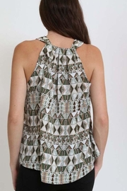 1 Funky Aztec Tile Tank - Front full body