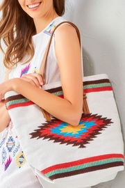 Gift Craft Aztec Tote Bag - Front full body