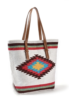Gift Craft Aztec Tote Bag - Product List Image