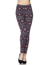 New Mix Aztec Tribal Legging - Product Mini Image