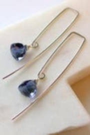 LINDA TRENT JEWELRY AZUL PYRAMID EARRINGS - Product Mini Image