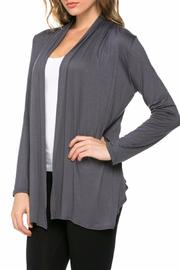 Azules Open Cardigan - Front cropped