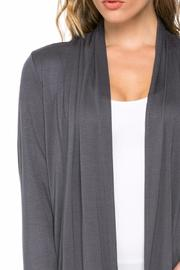 Azules Open Cardigan - Back cropped