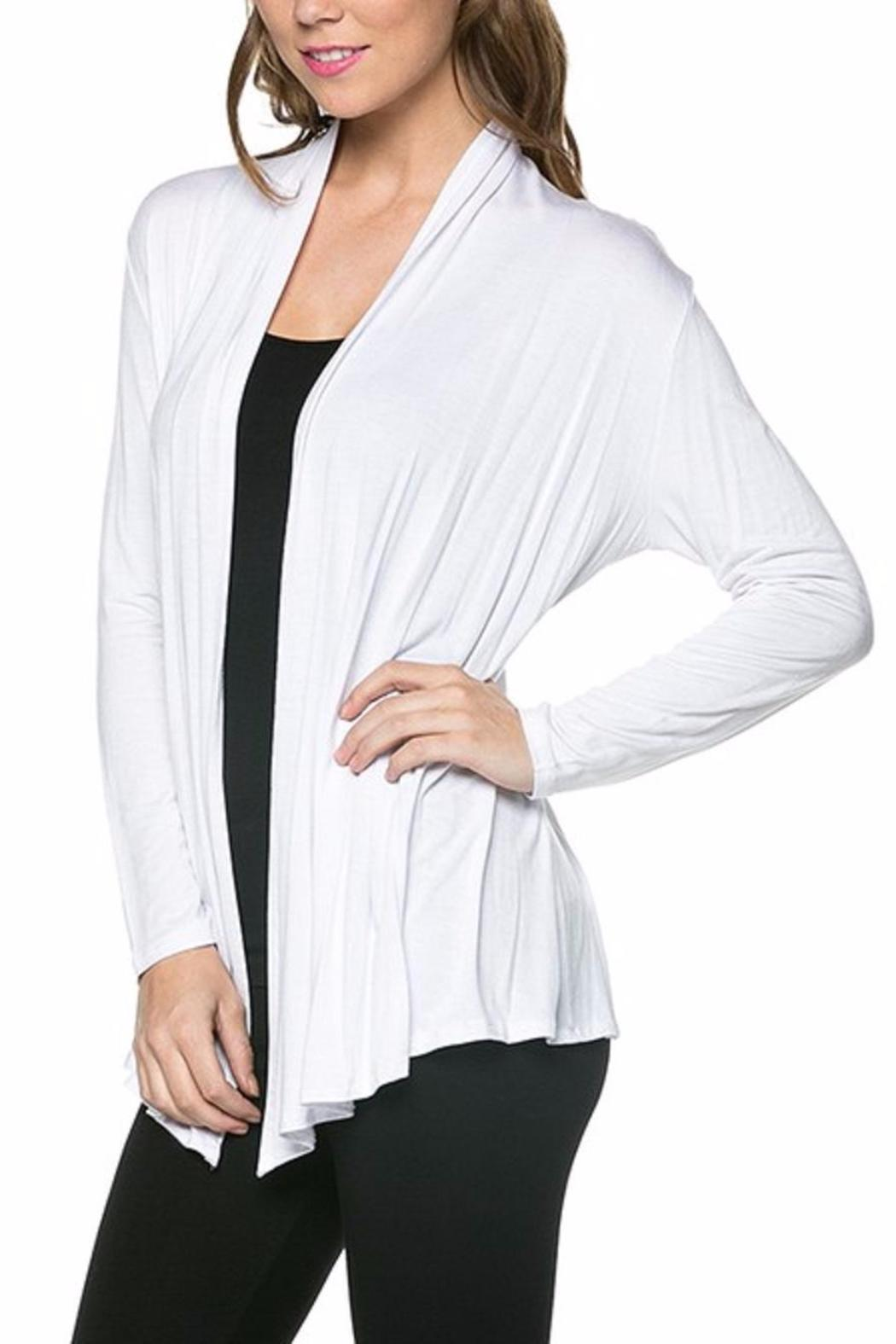 Azules Open Cardigan - Front Full Image