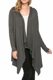 Azules Open Cardigan Hoody - Front full body
