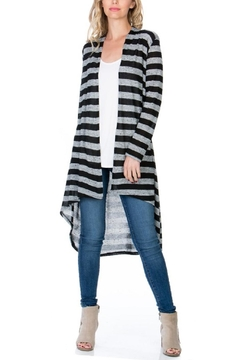 Shoptiques Product: Striped Long Cardigan