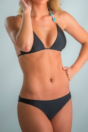 Azure Swimwear Black Bkini Bottom - Product Mini Image