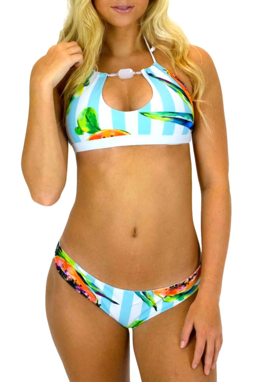 Azure Swimwear Papaya Exuma Bottom - Main Image