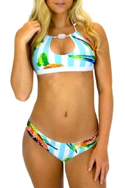 Azure Swimwear Papaya Exuma Bottom - Front cropped