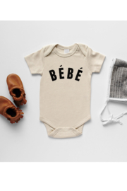 Gladfolk Bébé French-Inspired Organic Baby Bodysuit - Product Mini Image