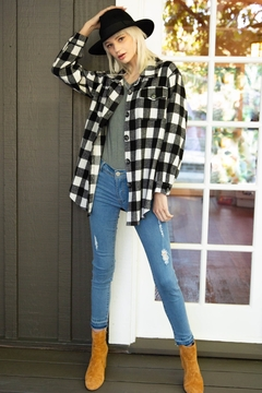 POL  Black & White Plaid - Product List Image