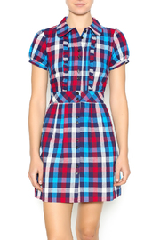B.Envied Sweet Plaid Dress - Product Mini Image
