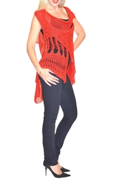 B&K moda Crochet Vest - Product Mini Image