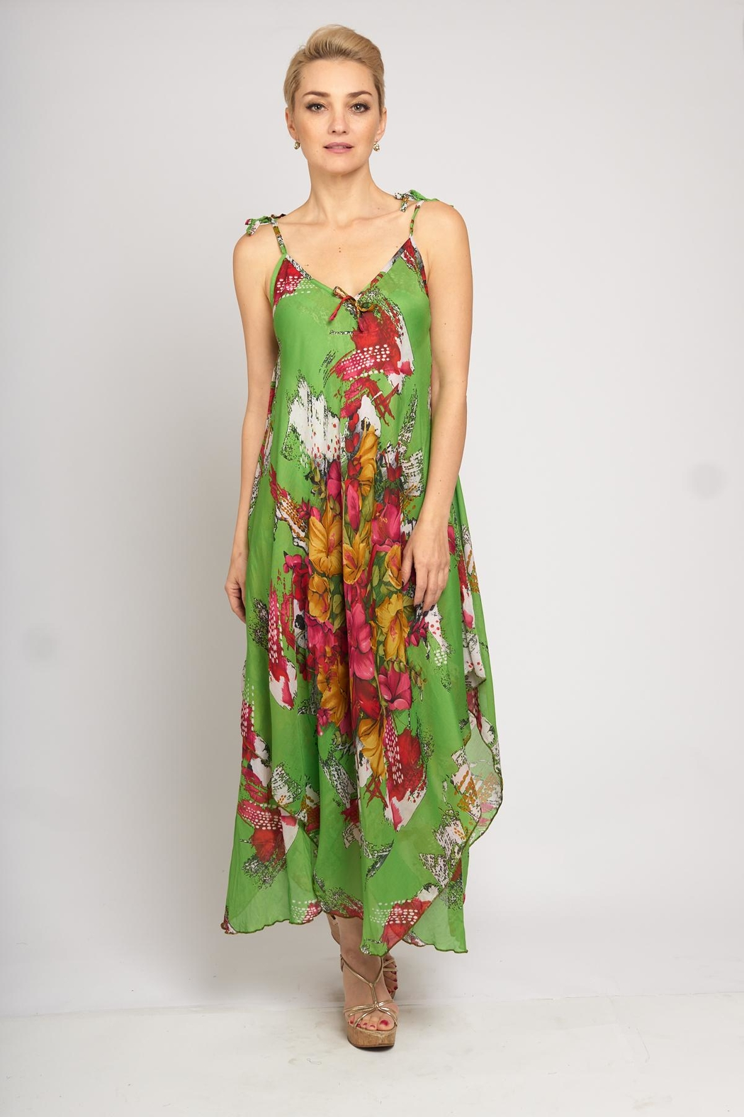 B&K moda Floral Print Dress - Main Image