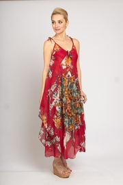 B&K moda Red Floral Dress - Product Mini Image