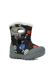 BOGS B-Moc Space Kids Insulated Boots - Front full body