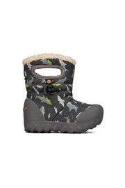 bogs  B-Moc Waterproof Winter Boot - Sharks - Product Mini Image