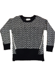 B.P. Collection Black White Sweater - Product Mini Image