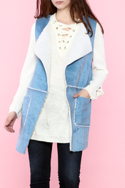 B-Sharp Sky Blue Vest - Product Mini Image