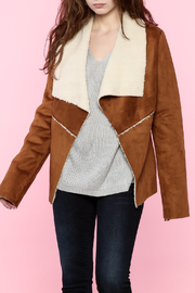 B-Sharp Suede Jacket - Product Mini Image