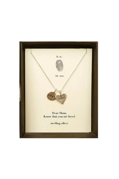 b.u. Jewelry Dear Mom Necklace - Alternate List Image