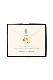 b.u. Jewelry Dog Love Necklace - Front cropped