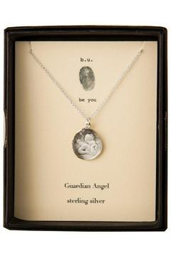 b.u. Jewelry Guardian Angel Necklace - Product List Image