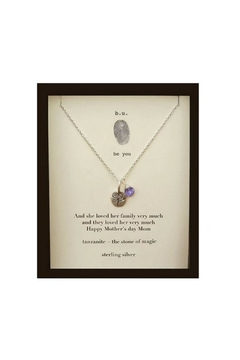 b.u. Jewelry Happy Mother's Day Necklace - Alternate List Image